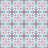 Design for printing on fabric, textile, paper, wrapper, scrapbooking. Authentic geometric background  in repeat. Design for printing on fabric, textile, paper Stock Images