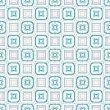 Design for printing on fabric, textile, paper, wrapper, scrapbooking. Authentic geometric background  in repeat. Design for printing on fabric, textile, paper Stock Image