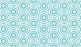 Design for printing on fabric, textile, paper, wrapper, scrapbooking. Authentic geometric background  in repeat. Design for printing on fabric, textile, paper Stock Photo