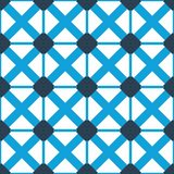 Design for printing on fabric, textile, paper, wrapper, scrapbooking. Traditional tile ornament retro, vintage style. Seamless pattern. Authentic geometric royalty free illustration