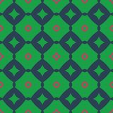 Design for printing on fabric, textile, paper, wrapper, scrapbooking. Traditional tile ornament retro, vintage style. Seamless pattern. Authentic geometric stock illustration