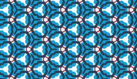 Design for printing on fabric, textile, paper, wrapper, scrapbooking. Traditional tile ornament retro, vintage style. Seamless pattern. Authentic geometric vector illustration