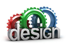 Design in progress Royalty Free Stock Photos