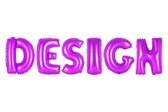 Design, purpurrote Farbe Stockbilder