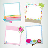 Design ready photo frame Stock Images