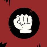 Design rebel fist Royalty Free Stock Image