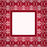 Design red ornament cover Stock Image