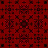 The design red vintage style wallpaper background. By Black-Hard Artstudio Royalty Free Stock Photo