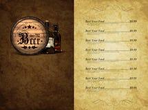 Design restaurant menu Royalty Free Stock Images