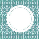 Design Retro Label, Frame, with Bow Vector Royalty Free Stock Photography