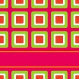 design retro seventies squares style Στοκ φωτογραφίες με δικαίωμα ελεύθερης χρήσης