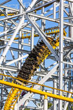 Design of the roller coaster at an amusement park Royalty Free Stock Photos