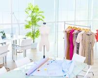 Design Room Office Fashion Studio Concept Stock Photo