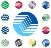 Design round vector logo template Stock Illustration