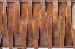 Design of rusty metal plates Royalty Free Stock Photography