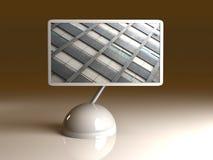 Design Screen - Montevideo building Stock Photography