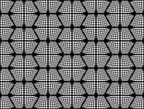 Design seamless checked hexagon pattern Royalty Free Stock Image