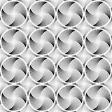 Design seamless circle striped geometric pattern Royalty Free Stock Image