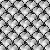 Design seamless circle striped geometric pattern Stock Photo