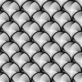 Design seamless circle striped geometric pattern Stock Photo