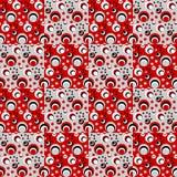 Design seamless colorful circle geometric pattern Stock Photos