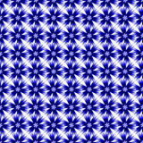 Design seamless colorful cornflower pattern Royalty Free Stock Images