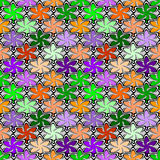 Design seamless colorful decorative pattern Royalty Free Stock Photography