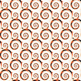 Design seamless colorful decorative spiral pattern Royalty Free Stock Photos