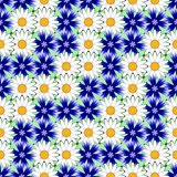 Design seamless colorful floral decorative pattern Royalty Free Stock Photography