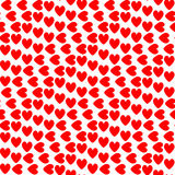 Design seamless colorful heart pattern Royalty Free Stock Image
