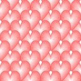 Design seamless colorful heart pattern Stock Photos