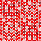 Design seamless colorful heart pattern. Valentines Stock Photography