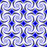 Design seamless colorful helix motion pattern Stock Photography