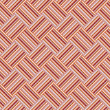 Design seamless colorful interlaced pattern. Design seamless colorful interlaced geometric pattern. Abstract stripy background. Vector art Royalty Free Stock Photography