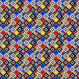 Design seamless colorful mosaic pattern Stock Image