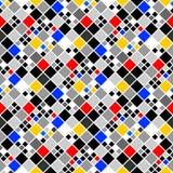 Design seamless colorful mosaic pattern Royalty Free Stock Image