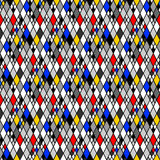 Design seamless colorful mosaic pattern Stock Images