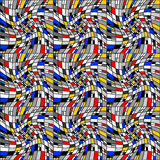 Design seamless colorful mosaic pattern Royalty Free Stock Image