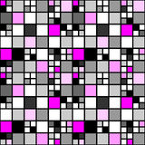Design seamless colorful mosaic tetragon pattern Stock Photos