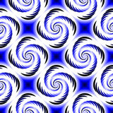 Design seamless colorful spiral geometric pattern Royalty Free Stock Image