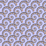 Design seamless colorful spiral geometric pattern Royalty Free Stock Photo