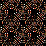 Design seamless colorful spiral pattern Stock Image