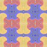 Design seamless colorful swirl pattern Royalty Free Stock Photography