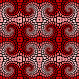 Design seamless colorful twirl movement pattern Royalty Free Stock Photography
