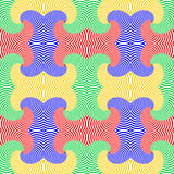 Design seamless colorful whirl pattern Stock Images