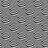 Design Seamless Cone Illusion Background Stock Photo