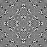Design seamless cone illusion background Royalty Free Stock Images