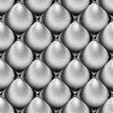 Design seamless cone illusion background Stock Images