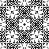 Design seamless decorative flower pattern Royalty Free Stock Images