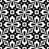 Design seamless decorative flower pattern Royalty Free Stock Photo